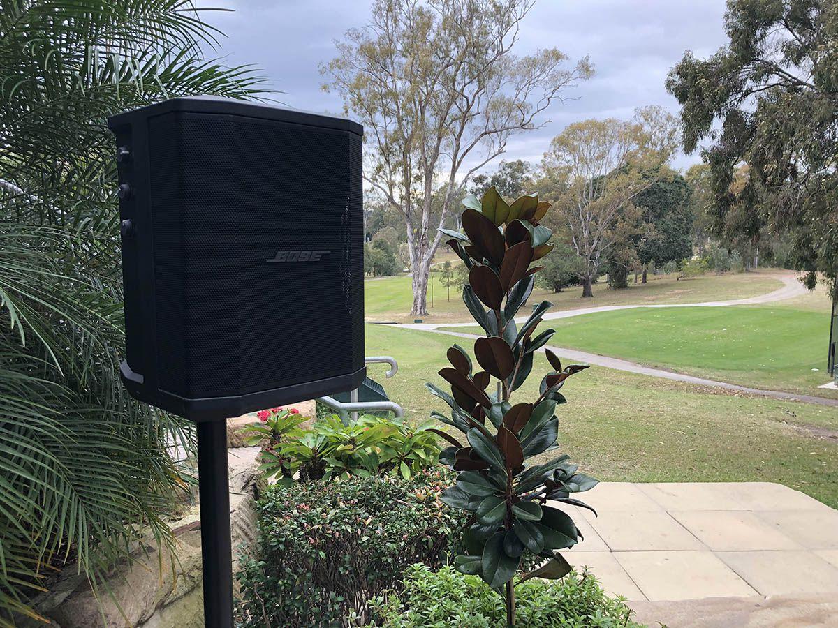Bose Speaker at Hillstone St Lucia
