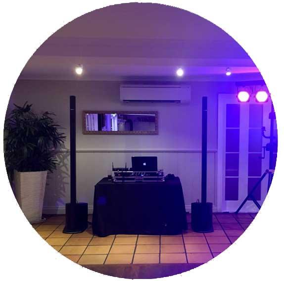 DJ Setup at Hillstone St Lucia