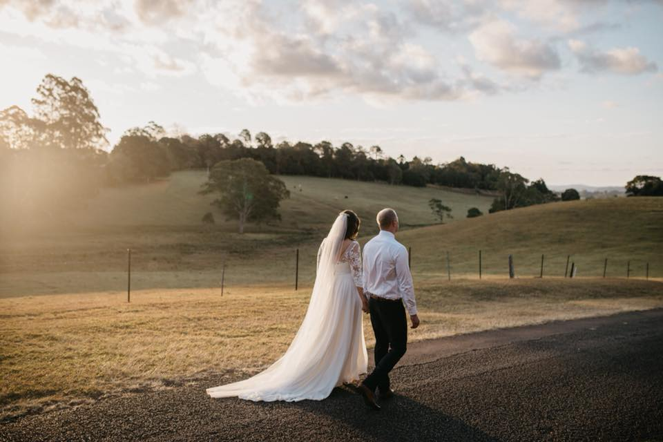 Sally & Matt's Wedding - Maleny Manor